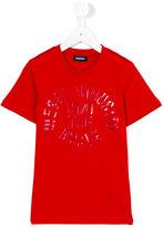 Diesel logo print T-shirt - kids - Cotton - 8 yrs
