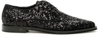 Dolce & Gabbana Sequins Lace-ups