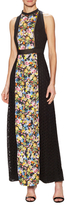 Mary Katrantzou Alyss Cotton Embroidered Maxi Dress