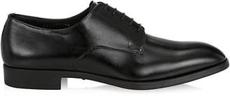 Giorgio Armani Pebbled Leather Derby Shoes