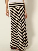 Hive & Honey Foldover Knit Maxi Skirt