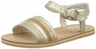 Clarks Boy's Girl's Finch Stride T Ankle Strap Sandals