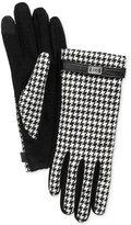 Lauren Ralph Lauren Menswear Pattern Metal Logo Tech Gloves