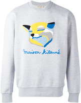 MAISON KITSUNÉ fox pattern sweatshirt - men - Cotton - M