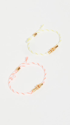 Madewell Campcraft Friendship Bracelet Set