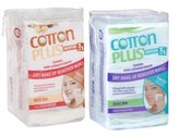 A & W Cotton Plus 2in1 Aloe & Argan Maxi Makeup Remover Pads Facial Cleansing Wipes 2 Packs