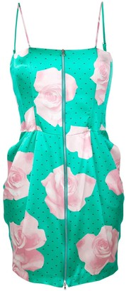 Fleur Du Mal Rose Print Dress