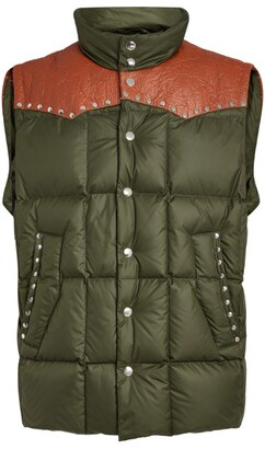 Phipps Studded Two-Tone Gilet