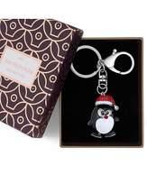 Jon Richard Christmas Penguin Keyring