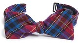 Ted Baker Men's Plaid Silk Bow Tie