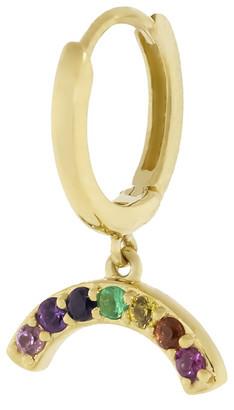 Andrea Fohrman Rainbow Hoop Single Earring