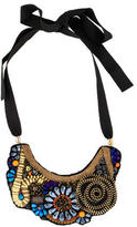 Megan Park Embellished Bib Necklace