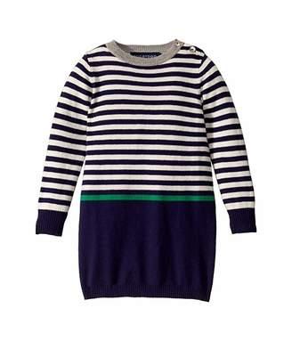 Toobydoo Sweater Dress (Infant/Toddler/Little Kids)