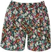 M&Co Floral print petal front shorts