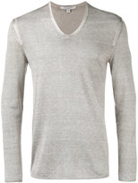 John Varvatos V-neck jumper - men - Silk/Cashmere - M