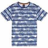 Nautica Boys' Striped Palm Print T-Shirt (8-16)