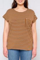 Ichi Striped Dolman Top