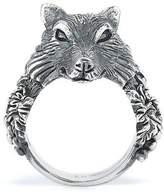 Ugo Cacciatori Small Wolf Ring