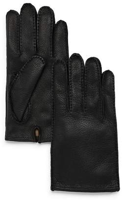 Bloomingdale's The Men's Store at The Men's Store Leather Gloves - 100% Exclusive