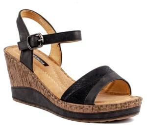 GC Shoes Rozz Wedge Sandal Women's Shoes