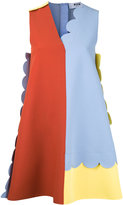 MSGM colour block shift dress - women - Polyester/Spandex/Elastane/Viscose - 38
