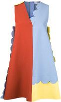 MSGM colour block shift dress - women - Polyester/Spandex/Elastane/Viscose - 40