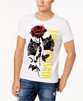 GUESS Men's Wolf Rose Graphic-Print T-Shirt