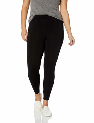 Daily Ritual Amazon Brand Women's Plus Size Faux 5-Pocket Ponte Knit Legging