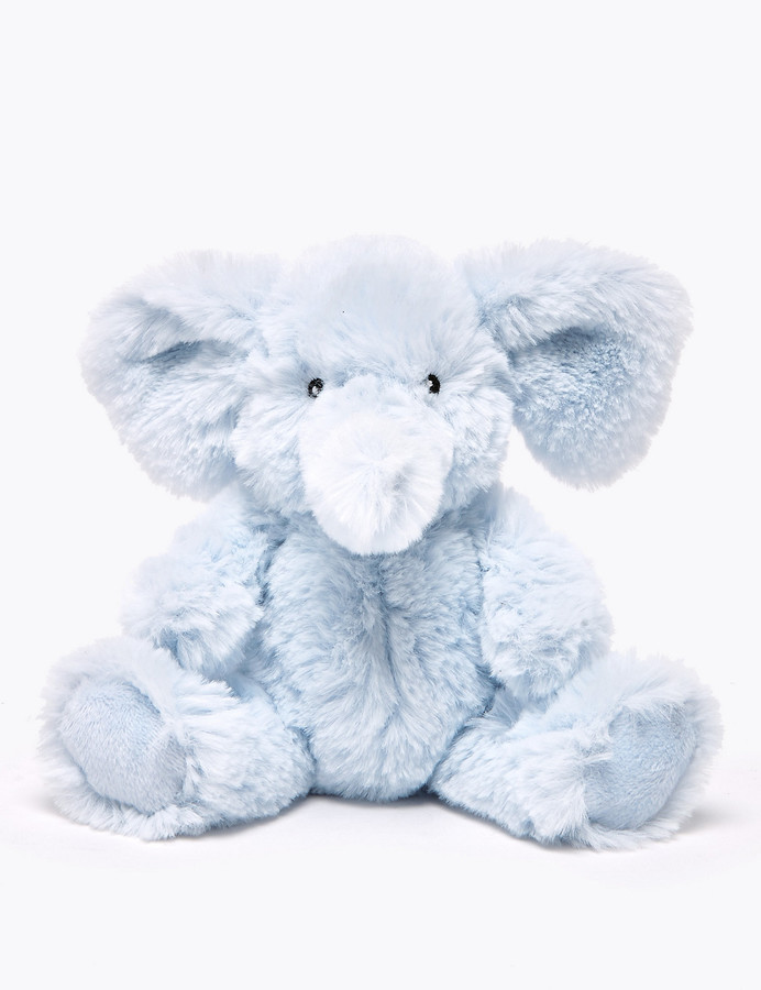 Marks and Spencer Elephant Soft Toy Rattle