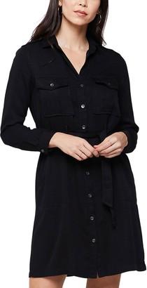 Velvet Heart Erien Long Sleeve Button Front Dress