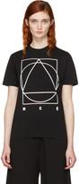McQ by Alexander McQueen Black Logo Glyph Icon T-shirt