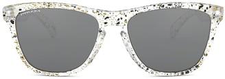 Oakley Oo9013 Splatter Clear Sunglasses