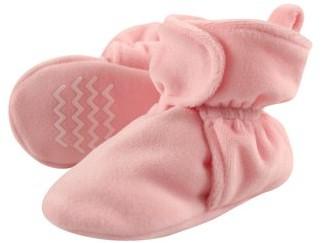 Hudson Baby Unisex Cozy Velour Booties