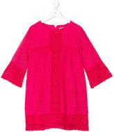 Ermanno Scervino embroidered dress - kids - Cotton - 6 yrs