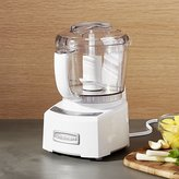 Crate & Barrel Cuisinart ® Elite Collection White/Stainless Steel Mini Prep