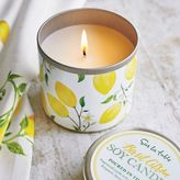 Sur La Table Lemon Basil Soy Candle