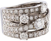 Harry Winston Crossover Diamond Ring