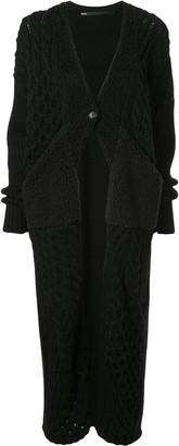 Muller of Yoshio Kubo Chunky Knitted Cardigan