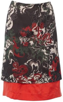 Cédric Charlier Black Wool Skirt for Women