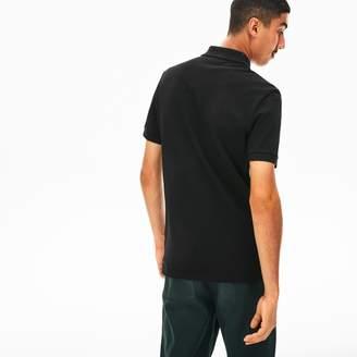Lacoste Men's Short Sleeve Side Stripe Pique Polo
