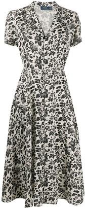 Polo Ralph Lauren Floral-Print Linen Dress
