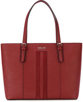Bally logo plaque shopping bag - women - Leather - One Size
