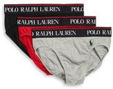 Polo Ralph Lauren Stretch-Jersey Brief 3-Pack
