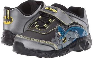 Favorite Characters Batmantm Lighted Athletic CL AVF365 (Toddler/Little Kid) (Black) Boy's Shoes