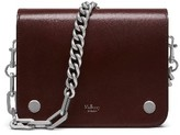 Mulberry Clifton Leather Bag - Burgundy