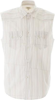 Phipps Sleeveless Striped Shirt
