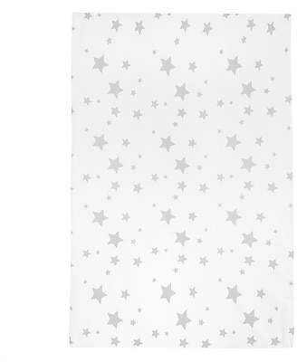 John Lewis & Partners Wedge Star Changing Mat, White Star
