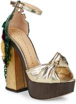 Charlotte Olympia Women's Brazilian Bombshell Platform Sandals