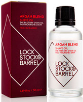 Lock Stock & Barrel Argan Blend Shave Oil 50ml