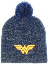 DC Wonder Woman Metallic Lurex Pom Beanie